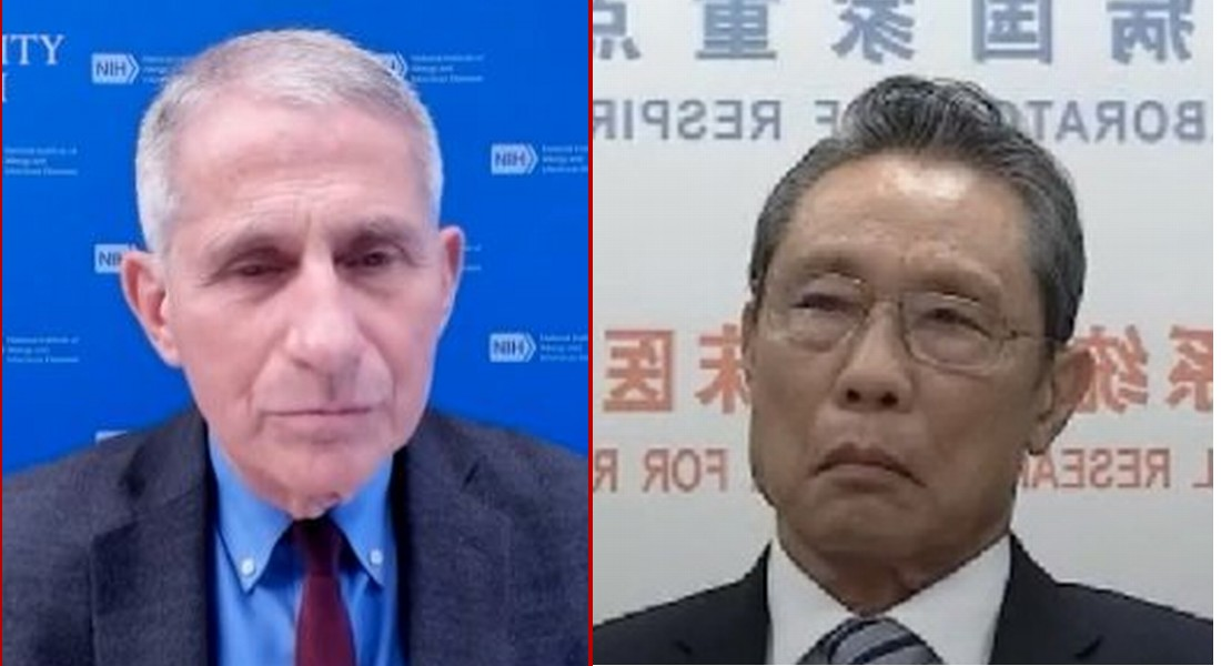 Dr. Fauci & Chinese Communist Caught Colluding on Mass Vaccinations, Extended Lockdowns