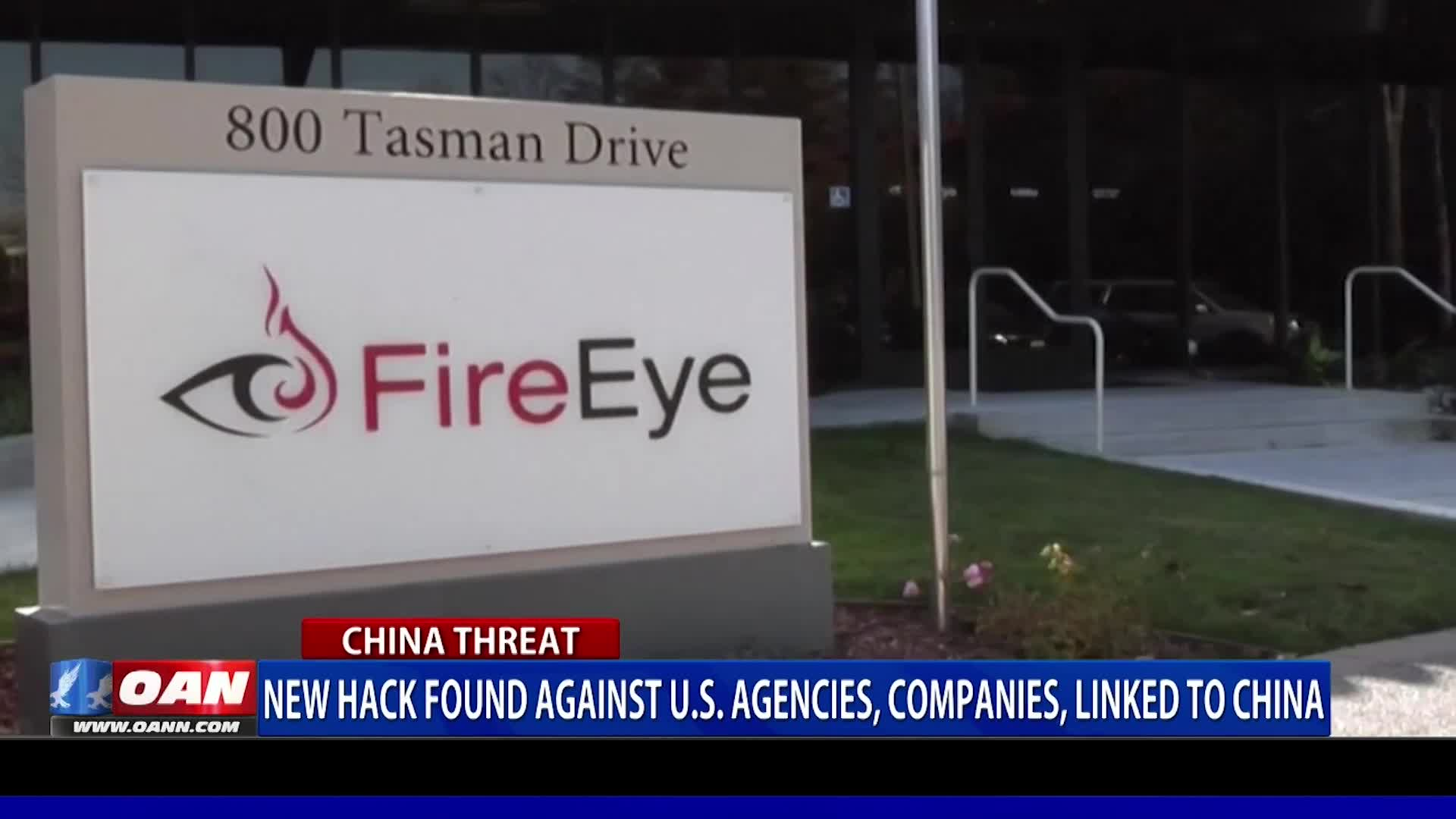 New hack found against U.S. agencies & companies, linked to China