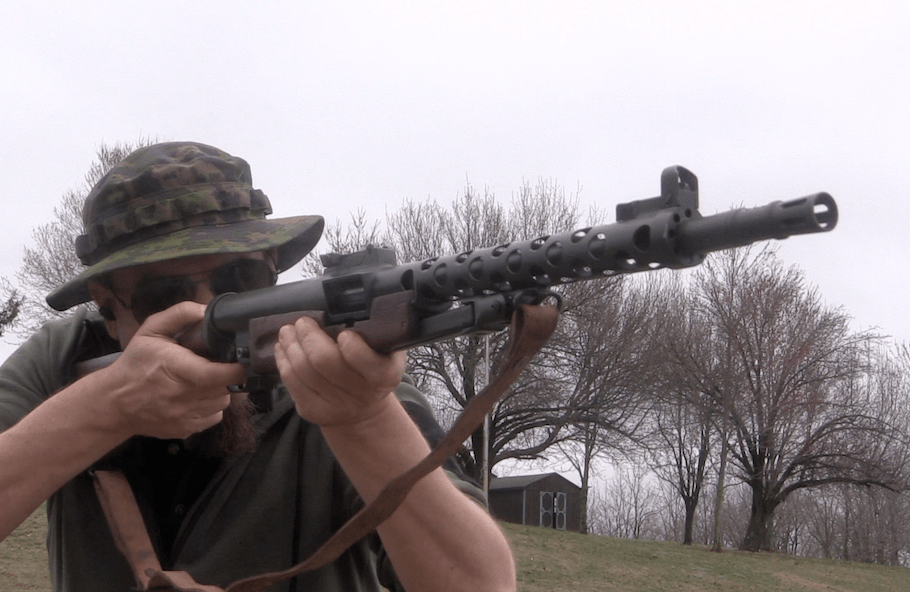 Semiauto ZK-383 on the Range – Forgotten Weapons