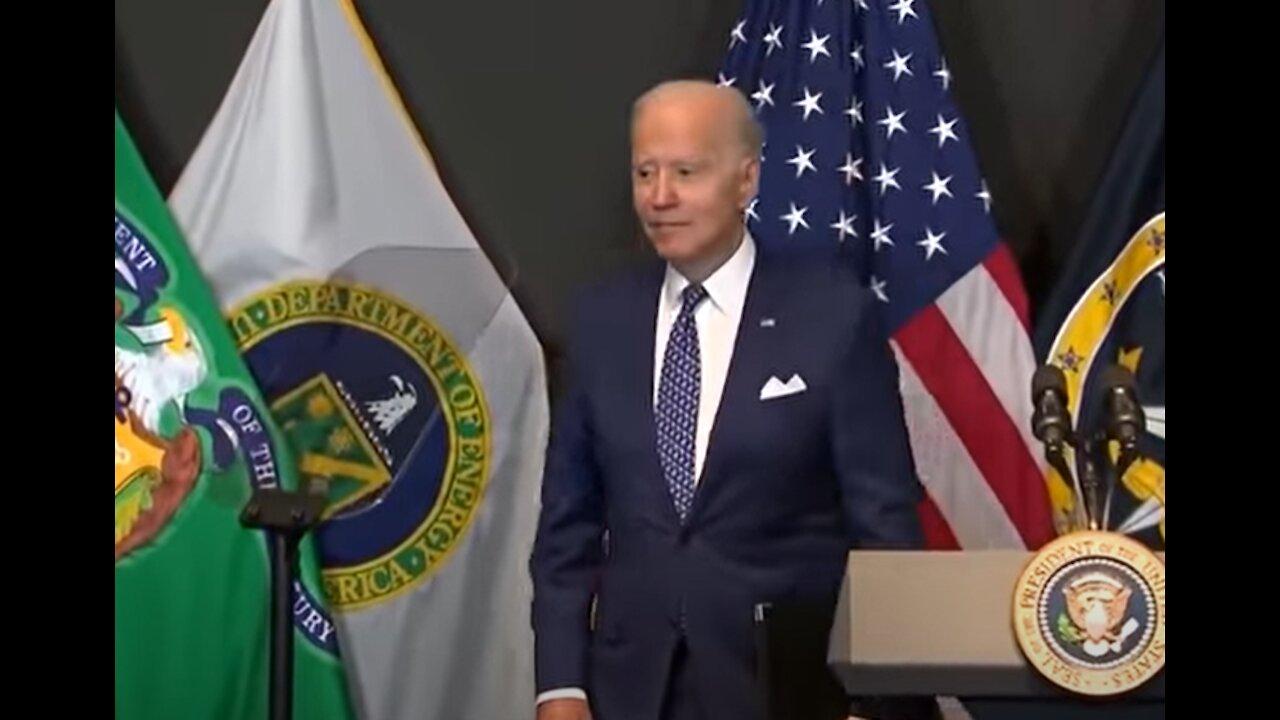 Biden Slurs Words, Tells Crowd,