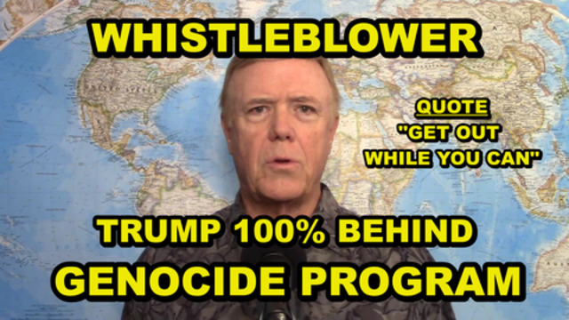 """WHISTLEBLOWER - TRUMP KNEW EVERYTHING FROM THE START - """"THIS MAN IS INVOLVED IN MASS MURDER"""""""
