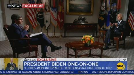 FLASHBACK: Biden Lied to Stephanopoulos: 'We're Going to Stay Until We Get Them All Out' ⋆ 10z Viral
