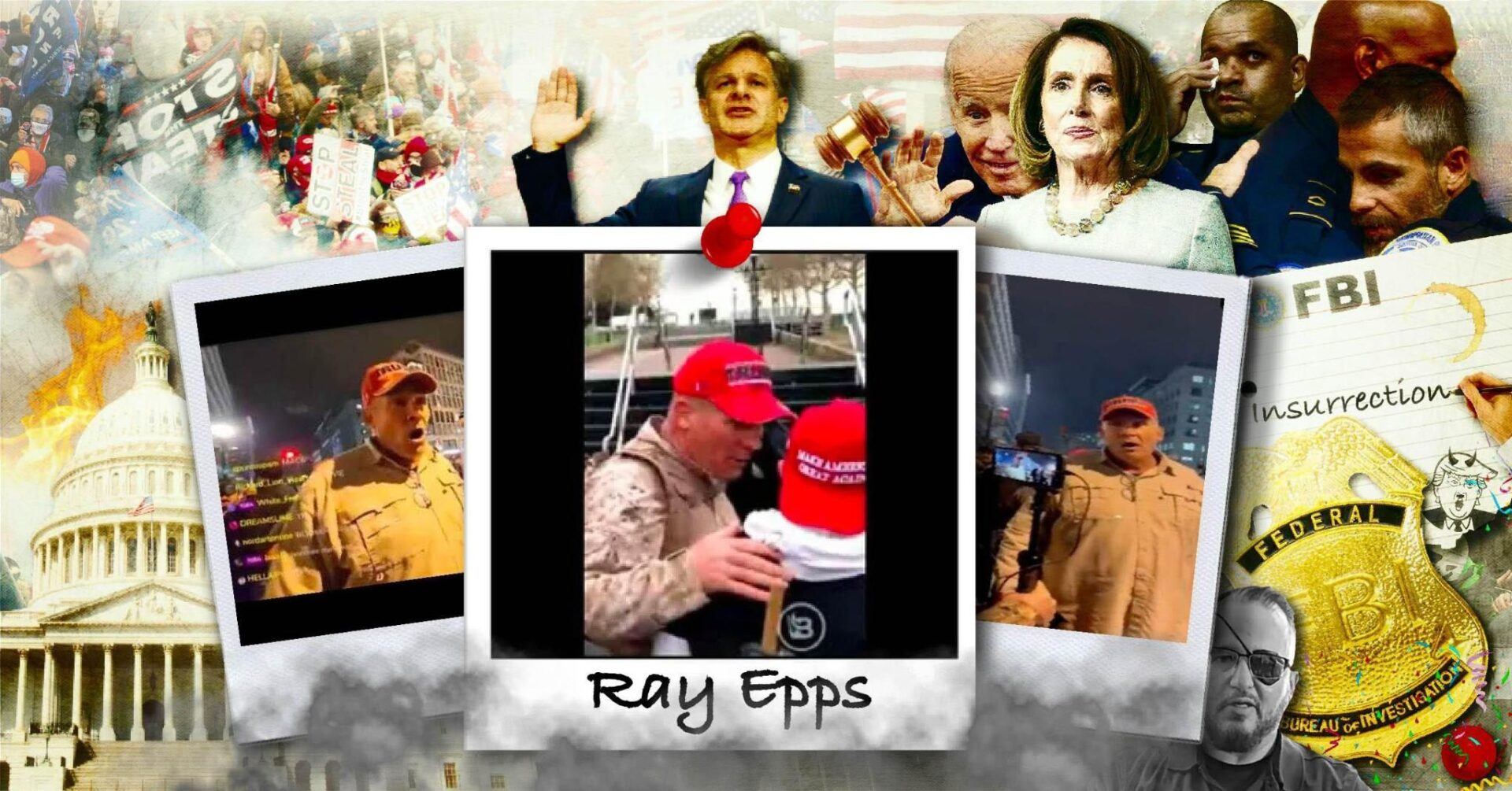 Meet Ray Epps: The Fed-Protected Provocateur Who Appears To Have Led The Very First 1/6 Attack On The U.S. Capitol - Revolver