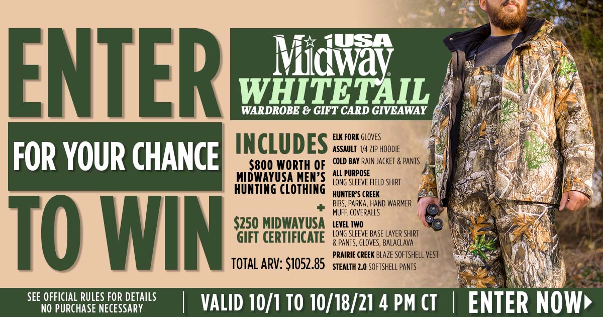 Whitetail Wardrobe and Gift Card Giveaway